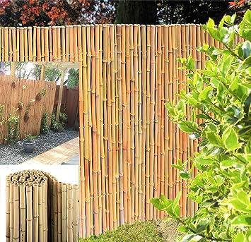 langlebi Yaw Premium bambú Valla de bambú blanco calidad ...