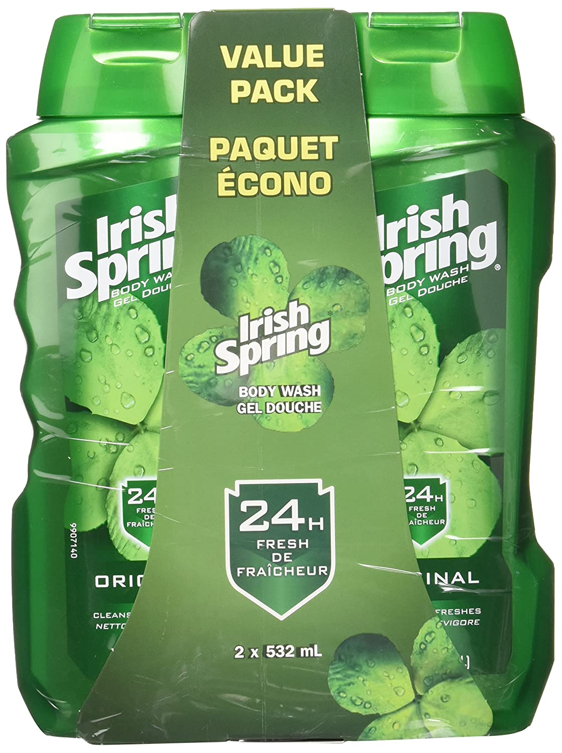 Irish Spring Men's Body Wash Pump, Original, 946 mL 10035000283532