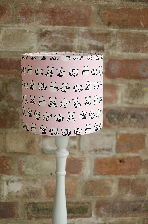 Pink panda lampshade