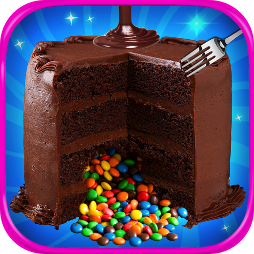 Chocolate Piñata Cake Maker - Kids Dessert Food & Rainbow Candy Games FREE