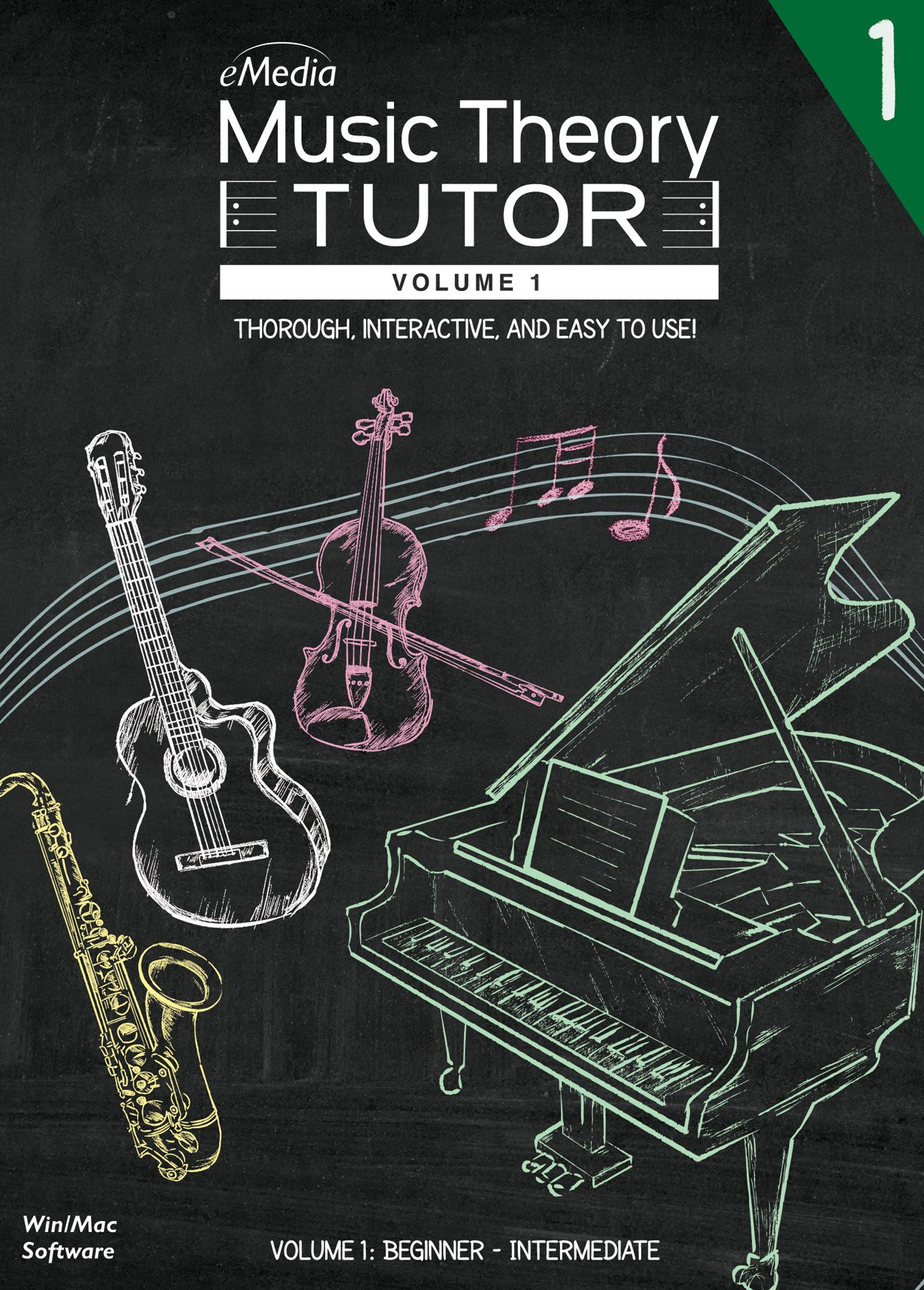 eMedia Music Theory Tutor Vol. 1 [PC Download] by eMedia Music