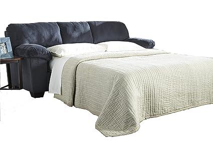 Ashley Furniture Signature Design   Dailey Contemporary Full Sofa Sleeper  With Mattress   Midnight Blue