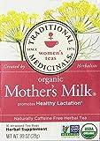 Traditional Medicinals Herbal Teas, Organic Mother's Milk, 16 Tea Bags (Pack of 3)