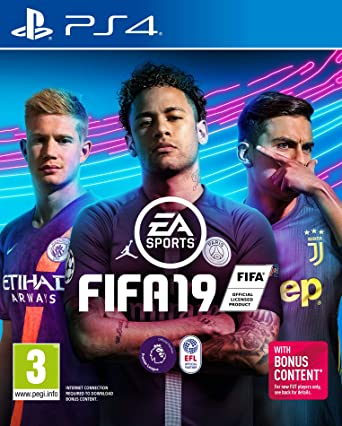CHOOSE YOUR SIZE New Hit 2018 PS4 Xbox Game Ronaldo 19 FREE P+P FIFA 19 Poster