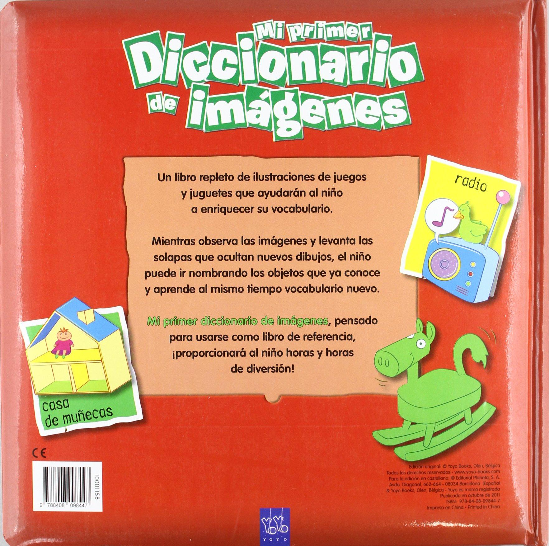 Mi primer diccionario de imágenes. ¡Me divierto!: YOYO: 9788408098447: Amazon.com: Books