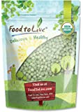 Food to Live Organic Green Peas (5 Pounds)
