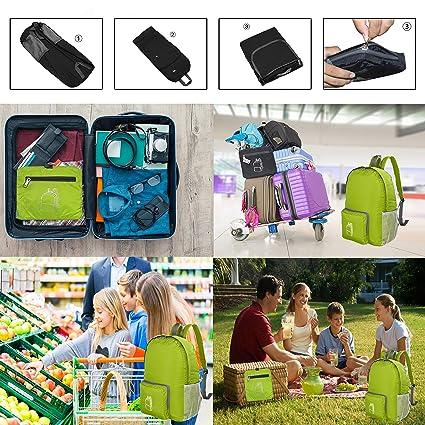 SoooEC 20L Ultra Ligero empaquetado Mochila de Impermeable Daypack: Amazon.es: Deportes y aire libre