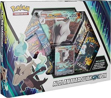 Pokémon POK80623 TCG: caja Alolan Marowak-GX, colores variados , color/modelo surtido: Amazon.es: Juguetes y juegos