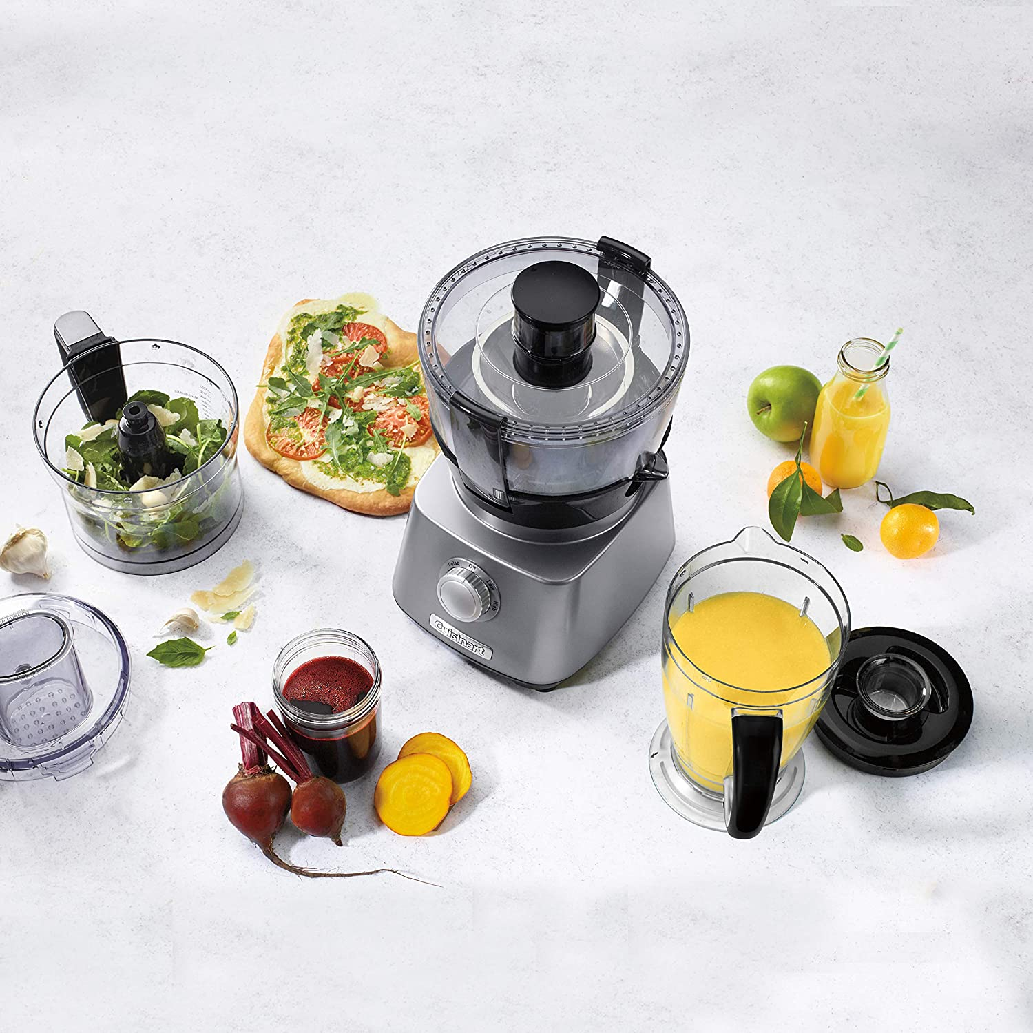 Cuisinart 3-in-1 Multifunctional Kitchen Centre CFP-800C 8-cup