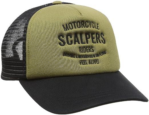 Scalpers Trucker Cap 01:Khaki, Gorra para Hombre, UNICA: Amazon.es: Ropa y accesorios