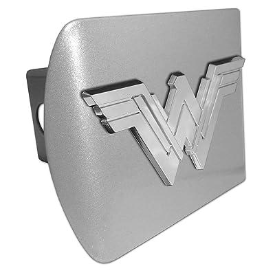 Elektroplate Wonder Woman Matte All Metal Hitch Cover: Automotive