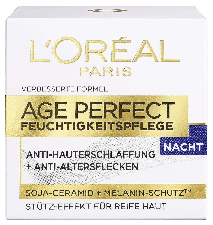 L'Oreal Paris Age Perfect Gesichtspflege, mit Soja-Ceramid für die Nacht, mildert Altersflecken und strafft die Haut, 50 ml L' Oréal Paris A01710_new