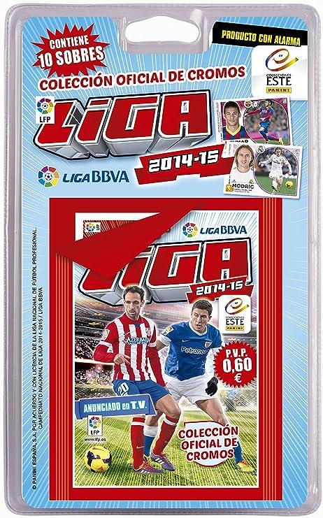 Liga BBVA - Blister de 10 Sobres de cromos Este 2014-2015 (Panini 002735BLIE): AA.VV: Amazon.es: Juguetes y juegos