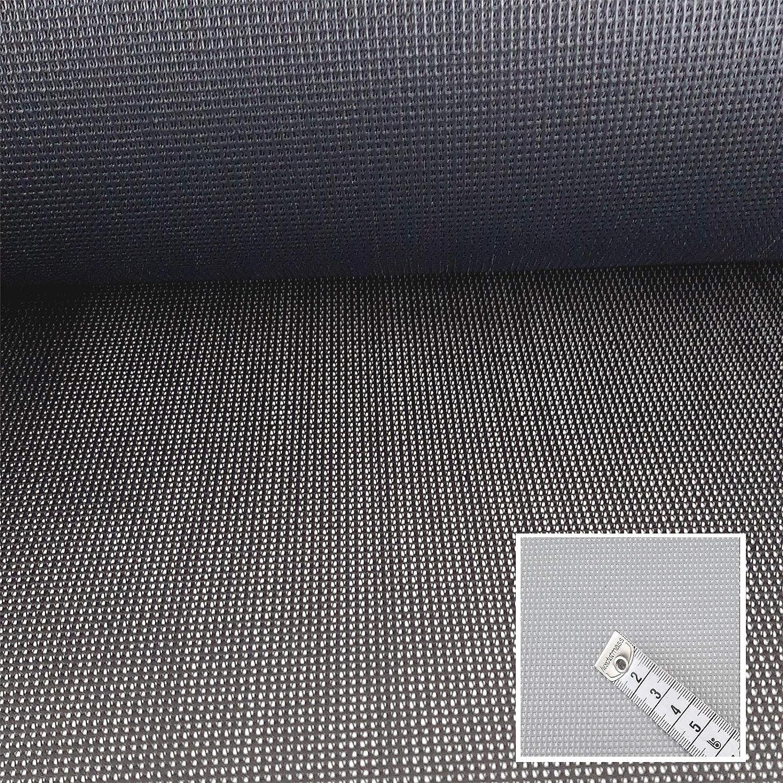Schwerentflammbar Wasserdurchl/ässig 23,99/€//m Hellgrau Seat Gard Schimmelbest/ändig Bezugsstoff f/ür Gartenm/öbel Windbremsend Reissfest
