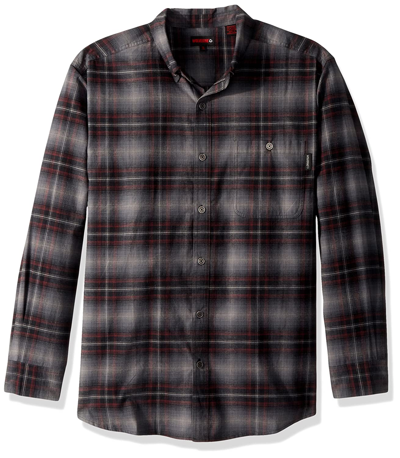 Wolverine SHIRT メンズ B0727Q7BGN XL|Granite Plaid Granite Plaid XL