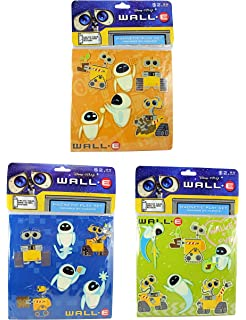 Official Pixar Product Jay Franco Pixar Wall-E Robo Love 1 Pack Pillowcase Double-Sided Kids Super Soft Bedding