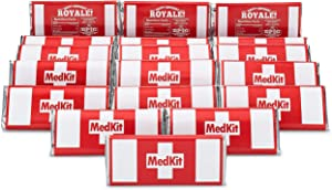 Ecorn Medkit Labels (16 Pack) - Gaming Party Supplies [Tape, Gluestick and Chocolate Bars Needed but Not Included]