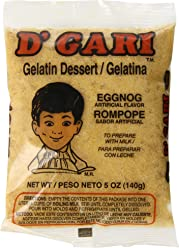 DGari Gelatin Dessert, Egg Nog, 5 Ounce (Pack of ...