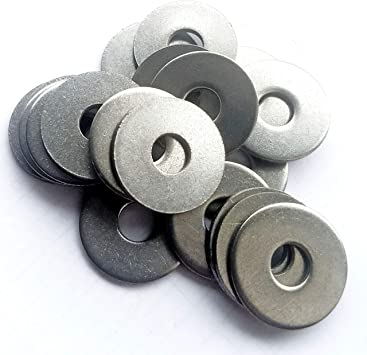 PENNY MUDGUARD WASHERS M5 X 30MM STAINLESS STEEL REPAIR WASHER A2 GRADE 304