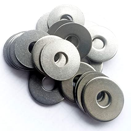 PENNY MUDGUARD WASHERS 5MM X 30MM STAINLESS STEEL REPAIR WASHER A2 GRADE 304