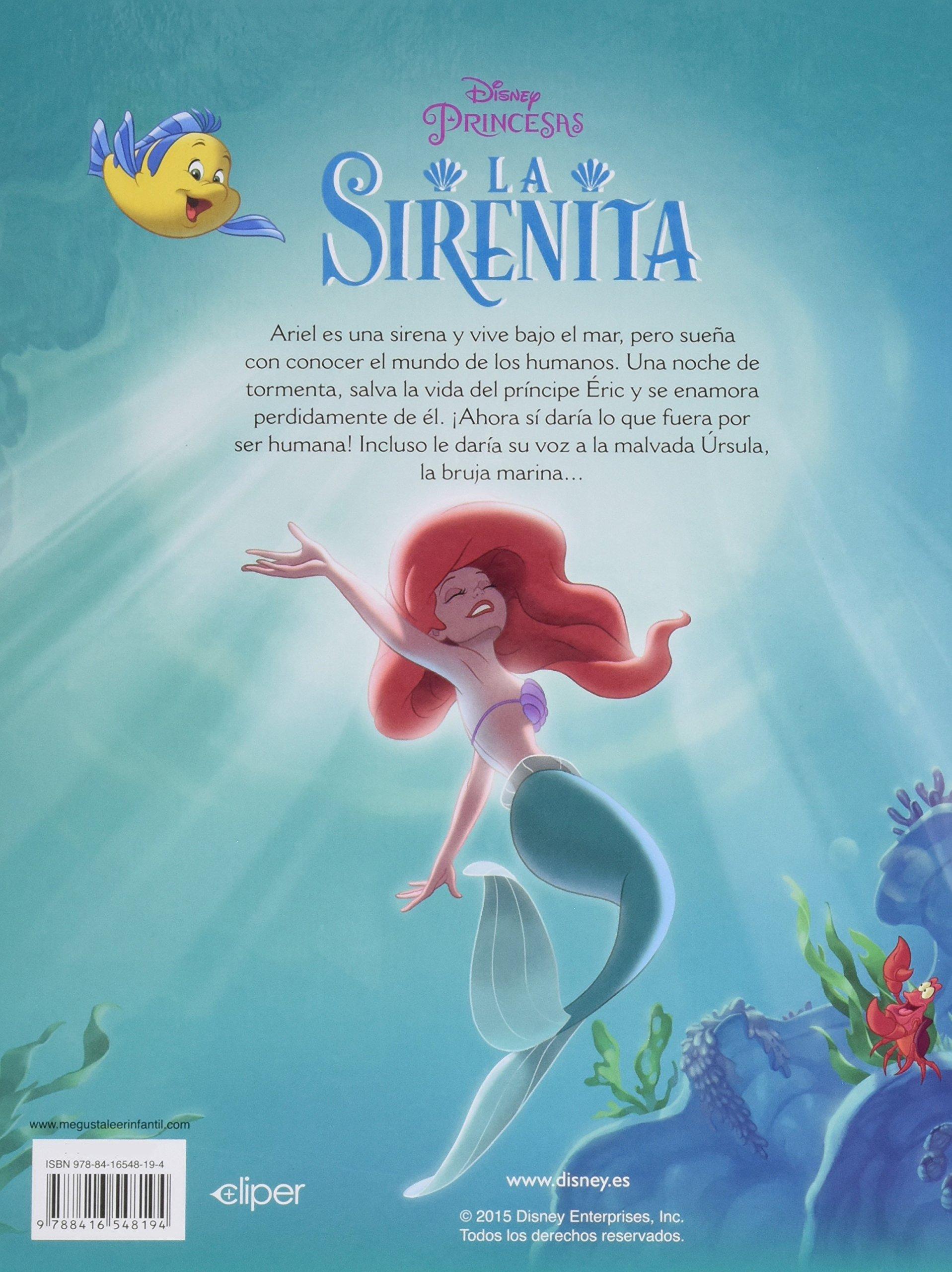 La Sirenita (Mis Clásicos Disney): Amazon.es: Disney: Libros