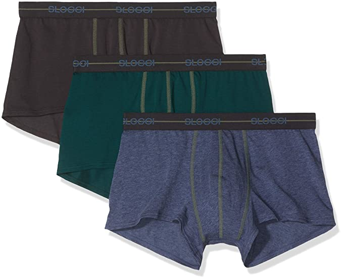 2498a6bb130b Sloggi Men's Hipsters (Pack of 3): Amazon.co.uk: Clothing