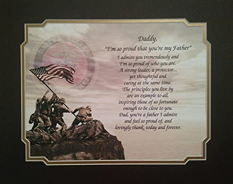 Marines Gift For QuotDaddyquot Im So Proud Youre My