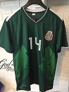 Full 90 Seleccion Mexicana World Cup CHICHARITO Green Jersey Genérica