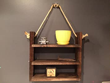 Rustikale Badezimmer Regal, Einlegeböden Aus Holz, Rustikal Dekor Country  Home Decor, Rustikal,