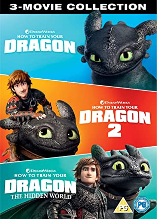 How to Train Your Dragon - 3 Movie Collection DVD 2019