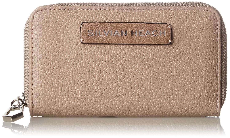 Silvian Heach - Wallet Silteras, Carteras Mujer, Beige (Taupe), 3x10x19 cm (W x H L)