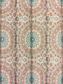 Style Lounge Shower Curtain. Cynthia Rowley Teal Turquoise and Tangerine Tapestry Medallion Shower  Curtain Amazon com Arabella by Style Lounge Coral 72