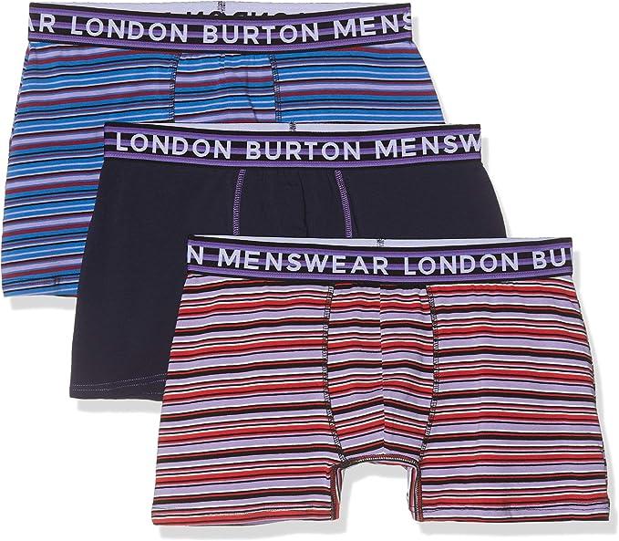3 in a Pack Burton Menswear London Mens core trunk