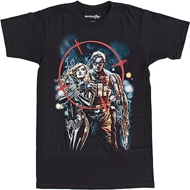 Marvel Winter Soldier On Target Crew Camiseta: Amazon.es: Ropa y accesorios