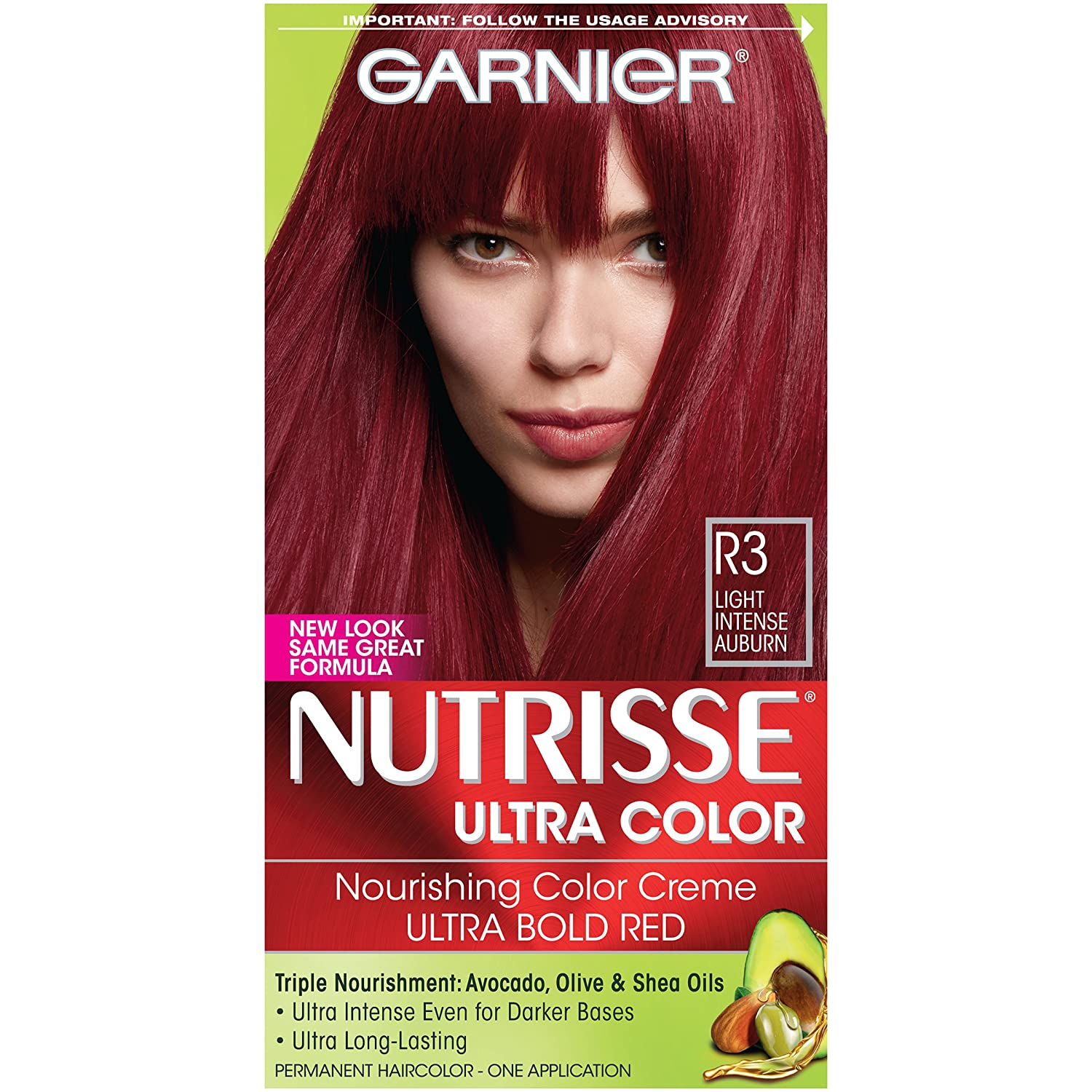 Amazon Garnier Nutrisse Ultra Color Nourishing Hair Color