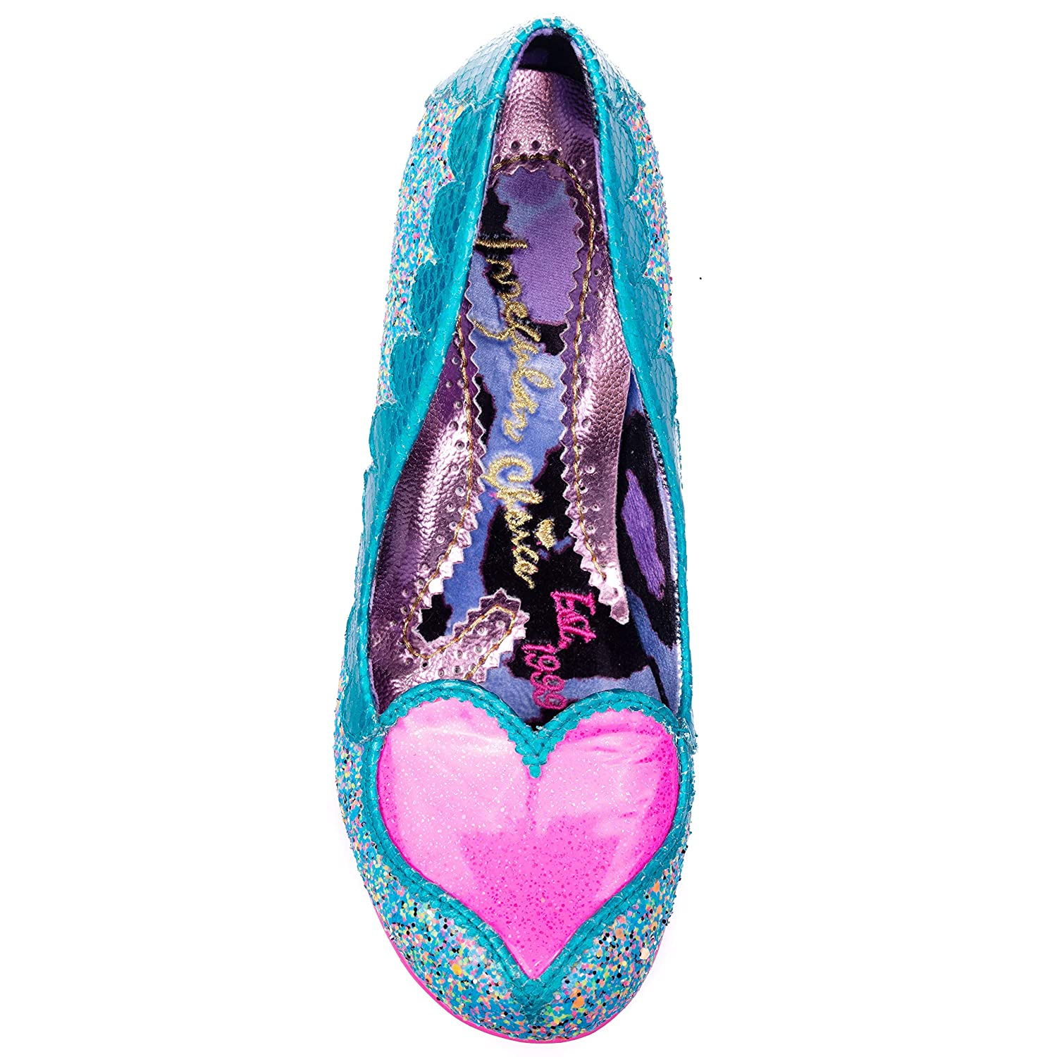 Irregular Choice What The Duck Womens Feature Duck Heeled Court Shoes