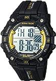 Armitron Sport Men's 40/8403YBK Yellow Accented Digital Chronograph Black Resin Strap Watch
