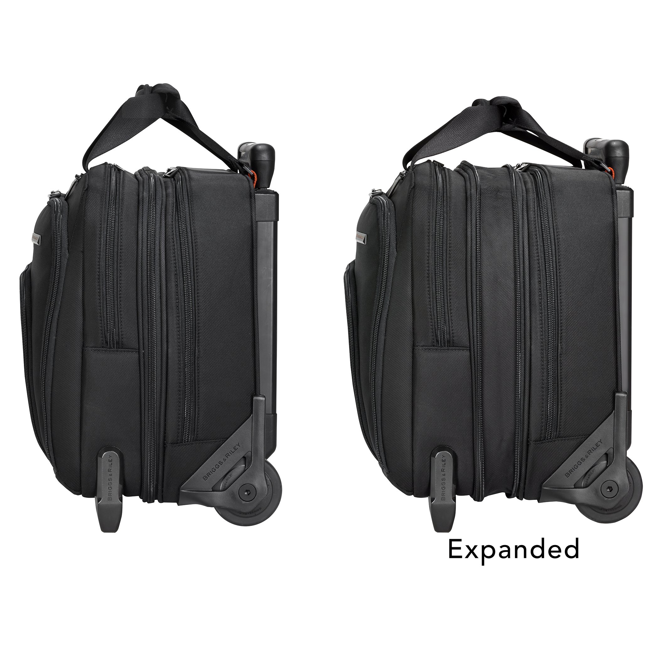 Briggs & Riley Propel Expandable Rolling Case, Black, One Size by Briggs & Riley