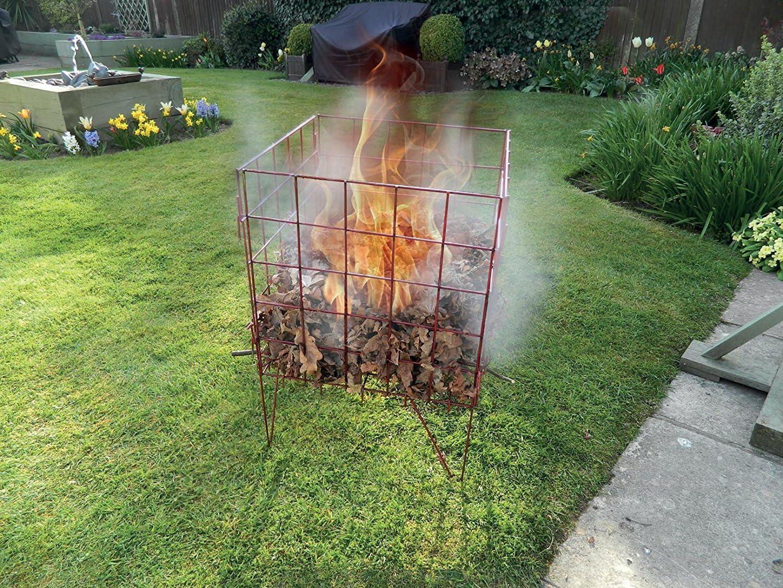 Incinerador de jardín fácil de montar: Amazon.es: Bricolaje y herramientas