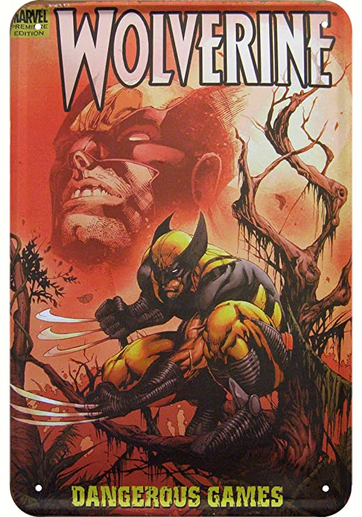 Wolverine Comic Cover Réplica decorativa diseño cartel de ...