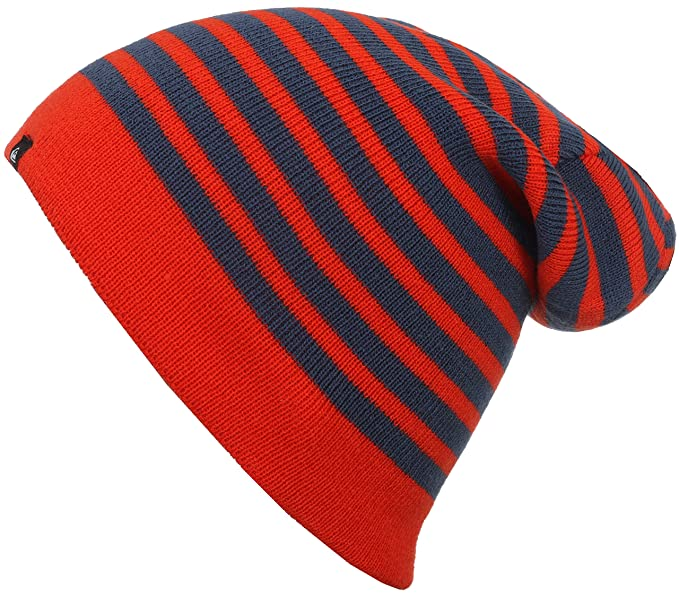 Amazon.com  Quiksilver Boys Preference - Beanie Beanie Orange One ... 99b955861af1