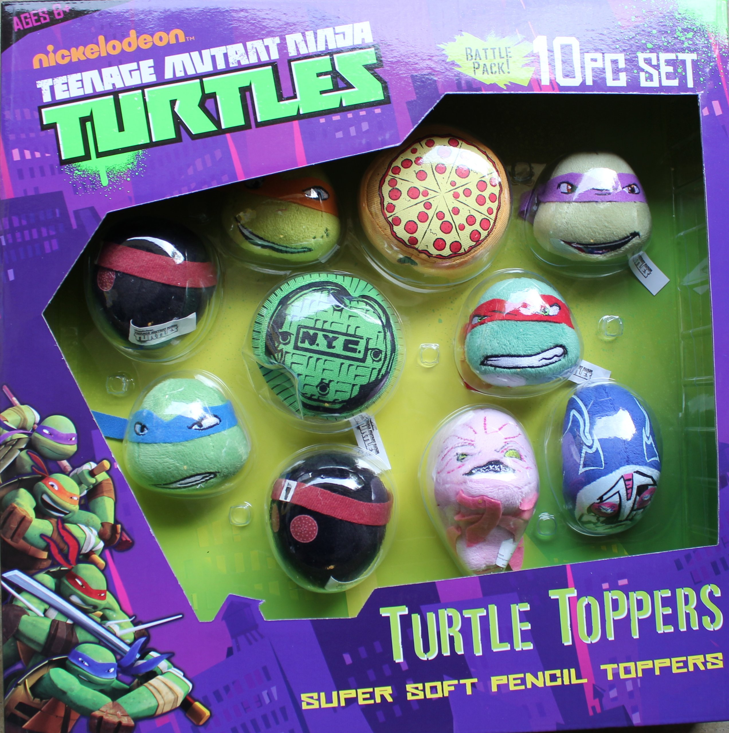 Turtle Toppers 10pc Set
