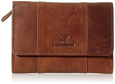 Sansibar Levante - Monedero de cuero mujer, color marrón ...