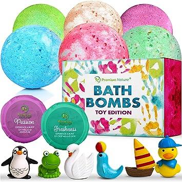 Amazon.com: Bombas de baño para niños, set de regalo ...