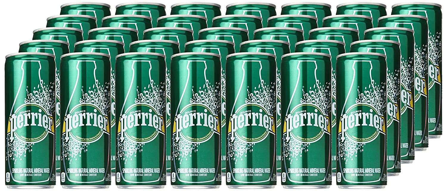 Number ten cans for sale - Amazon Com Perrier Sparkling Mineral Water Slim Cans 8 45 Oz 35 Pack Sparkling Drinking Water Grocery Gourmet Food