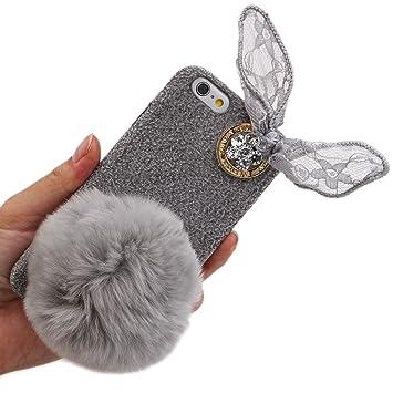 iphone 6 coque peluche