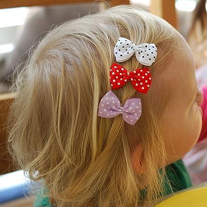 Nœud Papillon Cheveux Clips fille Accessoires cheveux filles Cheveux Clips  pour nœuds pour cheveux Pinces Barrettes