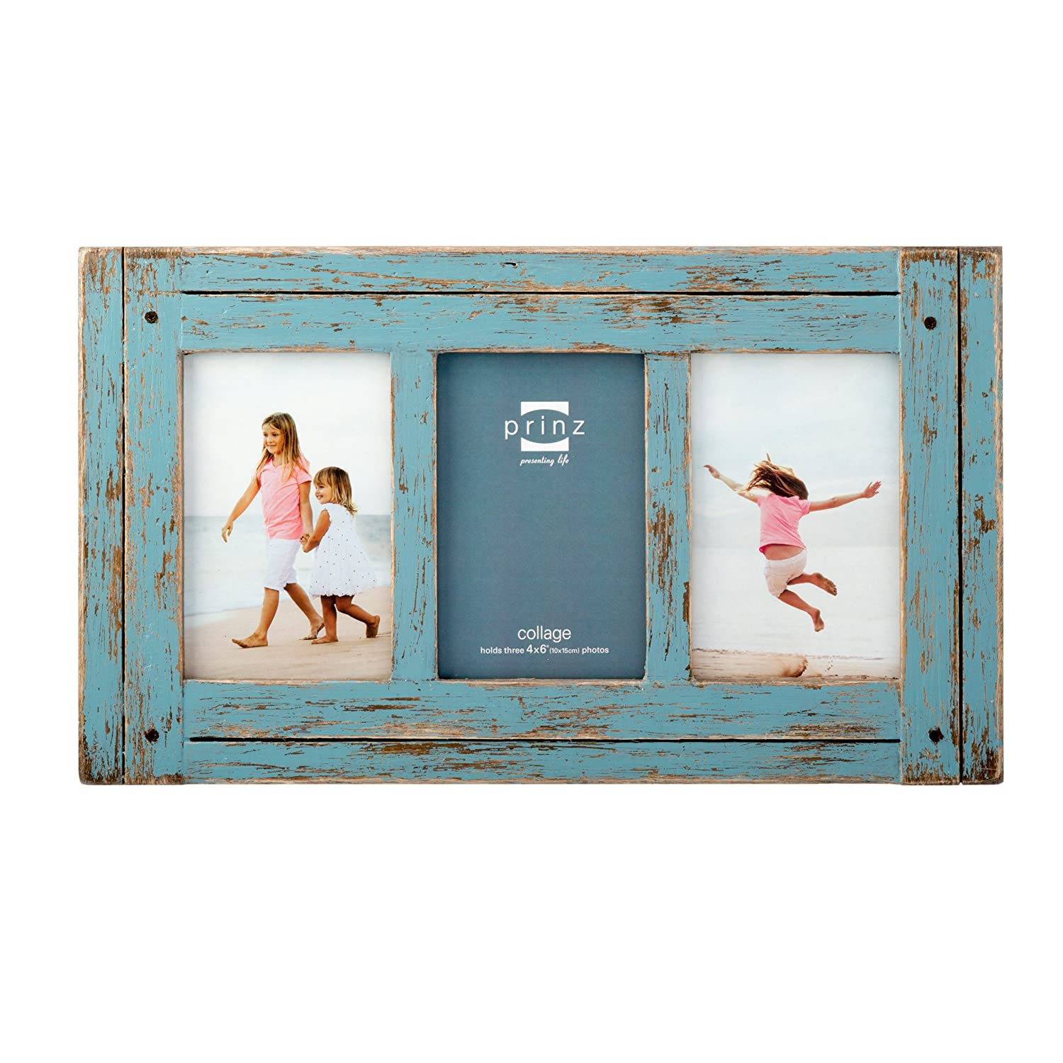 Amazon prinz 3 opening homestead antique wood collage frame amazon prinz 3 opening homestead antique wood collage frame 4 x 6 blue jeuxipadfo Choice Image