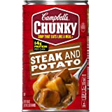 Campbell's Chunky Soup, Steak and Potato, 18.8 Ounce (Packaging May Vary)