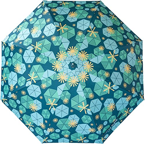 LA PLAYA Personal Beach Chair Umbrella Retro w SPF